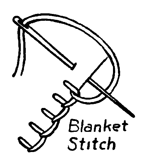 Blanket Stitch Embroidery How To French Knots