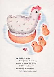 crochet pattern chicken softie