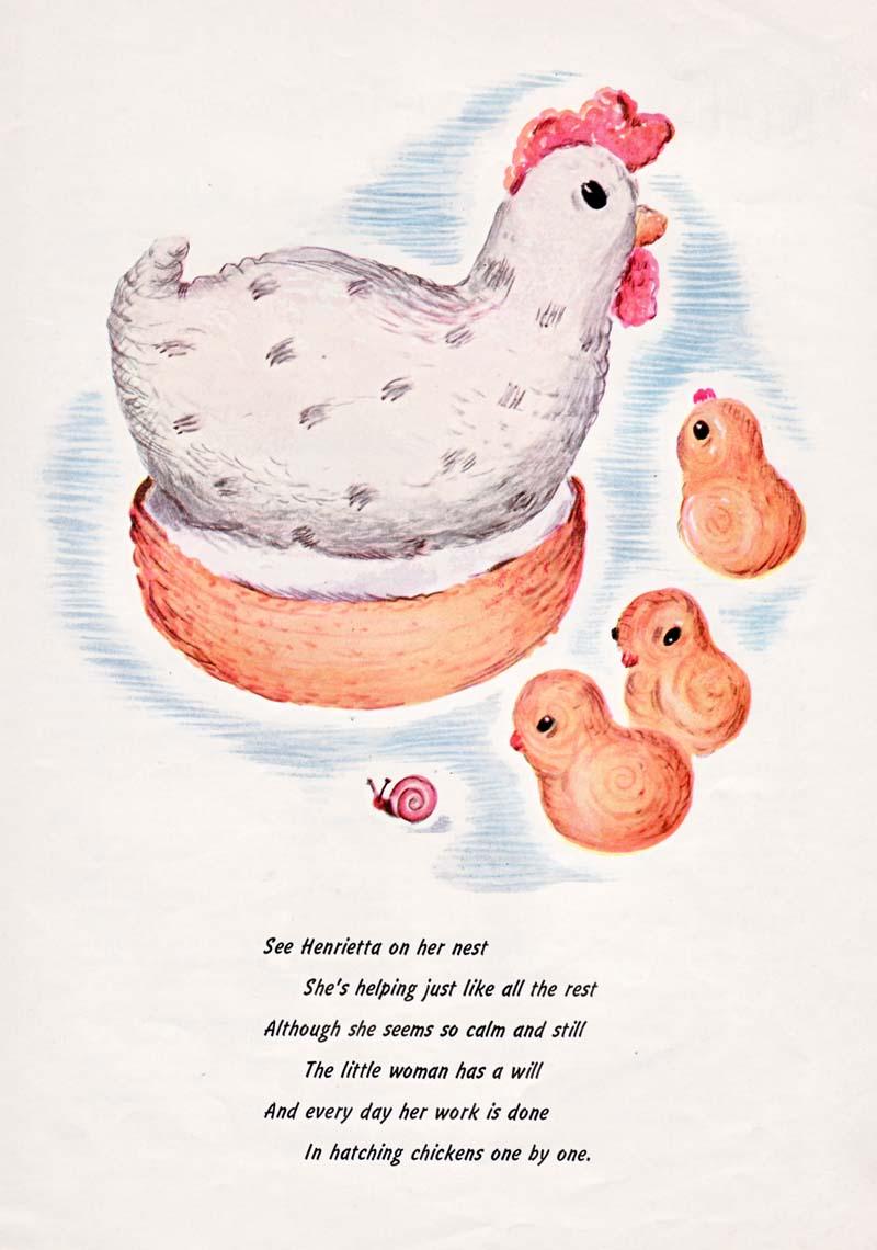 Henrietta Chicken Toy Crochet Pattern - French Knots