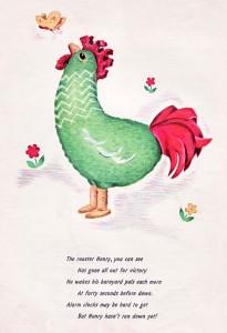rooster toy crochet pattern