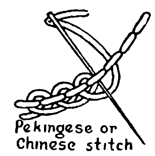 chinese embroidery stitch