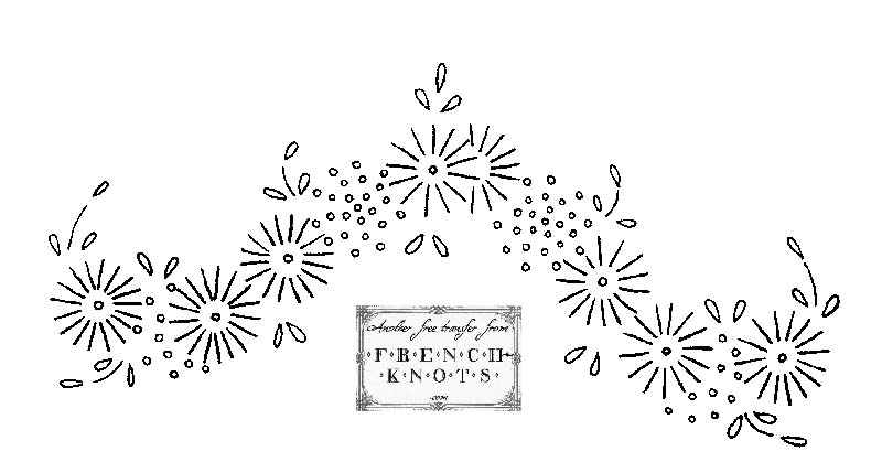 Fabulous Flowers Embroidery Transfer Patterns
