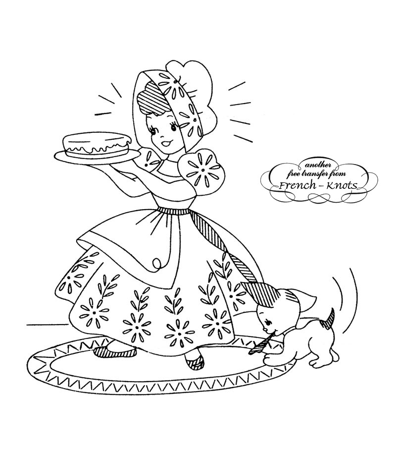 sunbonnet sue DOW embroidery patterns