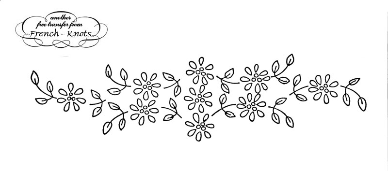 Flower Embroidery Patterns Image Collections Handicraft Ideas Home