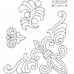 Fleur De Lis Embroidery Transfer Pattern