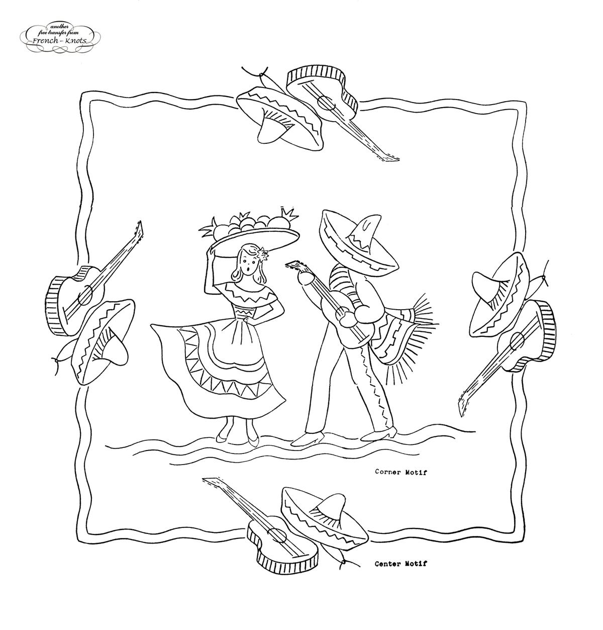 Vintage Embroidery Patterns Cool Design Inspiration
